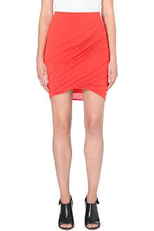 HELMUT LANG Nova twisted stretch-jersey skirt