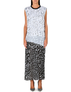 HELMUT LANG Annex print maxi dress
