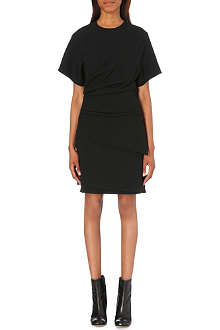HELMUT LANG Palm suiting asymmetric dress