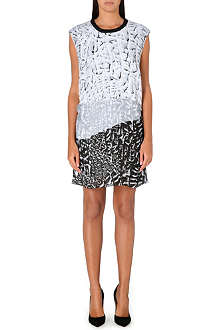 HELMUT LANG Annex print mini dress