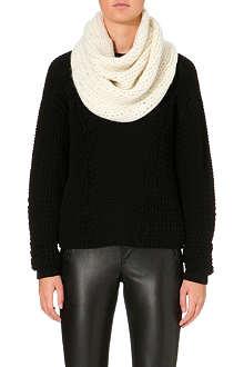 HELMUT LANG Alpaca-blend knitted snood