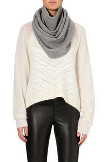 HELMUT LANG Cashmere knitted snood