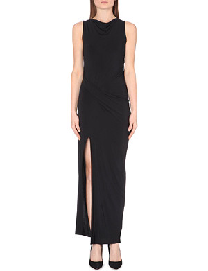 HELMUT LANG Faint jersey maxi dress
