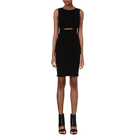 HELMUT LANG Gala jersey dress (Black