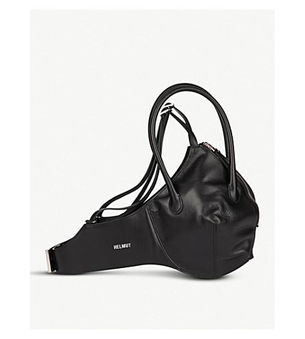 HELMUT LANG Bra leather bag (Black