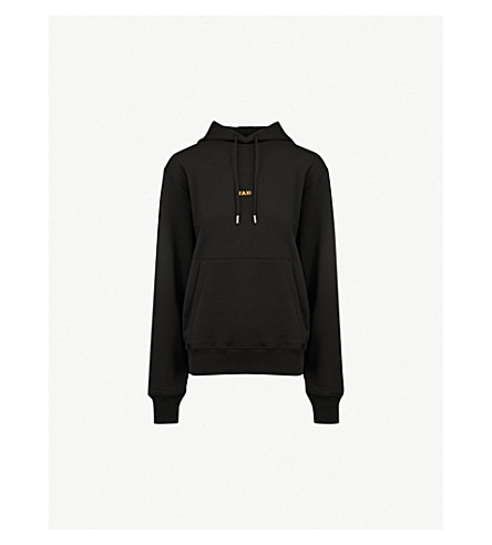 HELMUT LANG Taxi cotton-jersey hoody (Black