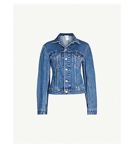 HELMUT LANG Femme Trucker denim jacket (Denim