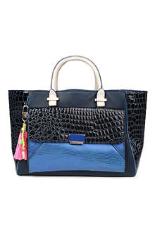 PAUL'S BOUTIQUE Freya croc-panel bag
