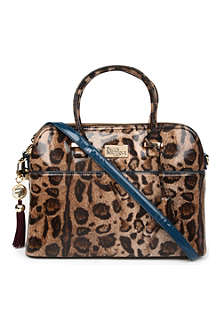 PAUL'S BOUTIQUE Maisy leopard-print bag