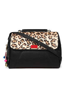 PAUL'S BOUTIQUE Paige leopard-print handbag