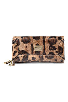 PAUL'S BOUTIQUE Beth leopard wallet