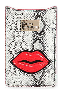 PAUL'S BOUTIQUE Snake-effect iPhone case