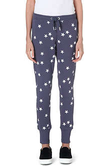 ZOE KARSSEN Star-print jogging bottoms