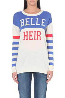 ZOE KARSSEN Belle Heir knitted jumper