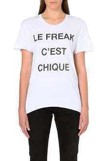 ZOE KARSSEN Le Freak jersey t-shirt