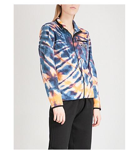 STUSSY Oxygen Polar fleece jacket (Multi