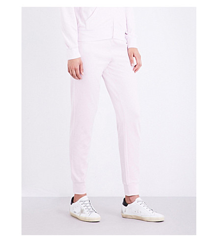 JUICY COUTURE Zuma velour jogging bottoms (Baby+pink