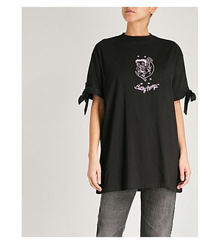LAZY OAF Lazy Oaf x Betty Boop cotton-jersey T-shirt (Black