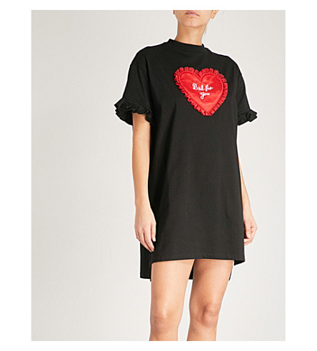 LAZY OAF Bad for You cotton-jersey nightdress (Black