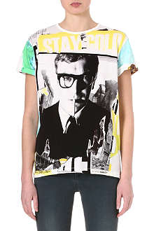 DAVID BAILEY Michael Caine t-shirt