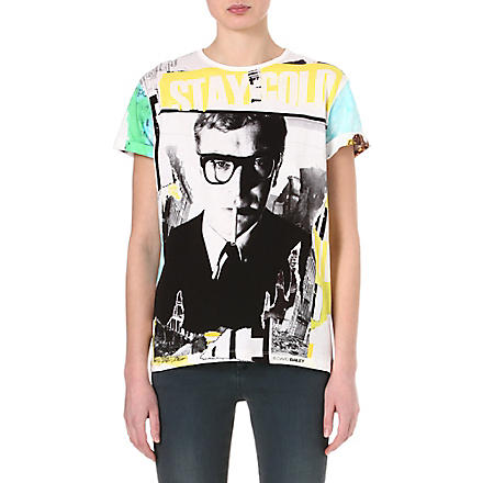 DAVID BAILEY Michael Caine t-shirt (White