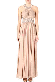 FOREVER UNIQUE Cut-out maxi dress