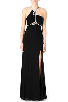 FOREVER UNIQUE Rope-embellished maxi dress