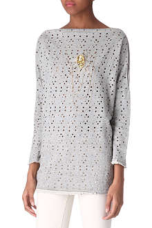 FOREVER UNIQUE Embellished skull top