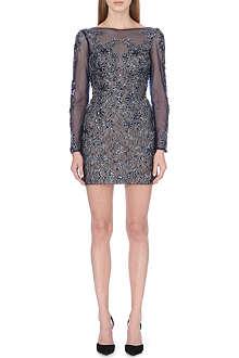 FOREVER UNIQUE Natalie embellished tulle dress