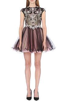 FOREVER UNIQUE Precious embellished dress