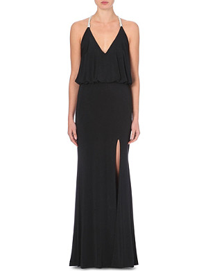 FOREVER UNIQUE Cammie halterneck dress