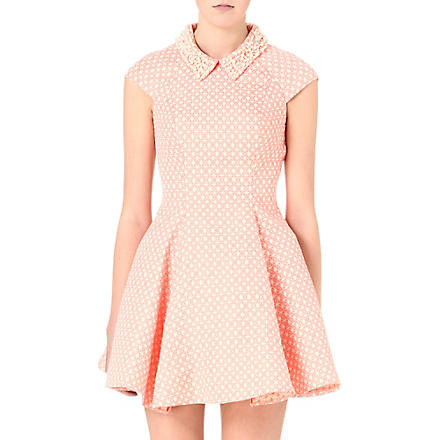 FOREVER UNIQUE Shona print dress (Coral