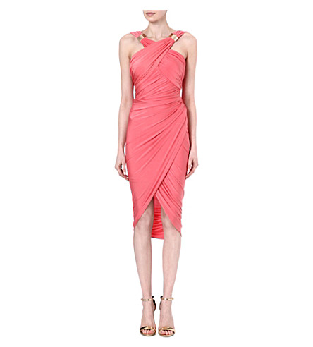 FOREVER UNIQUE Mika jersey dress (Coral