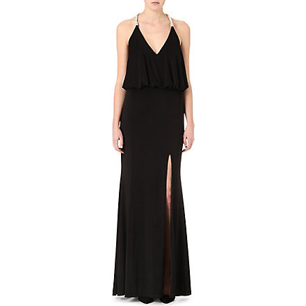 FOREVER UNIQUE Cammie maxi dress (Black