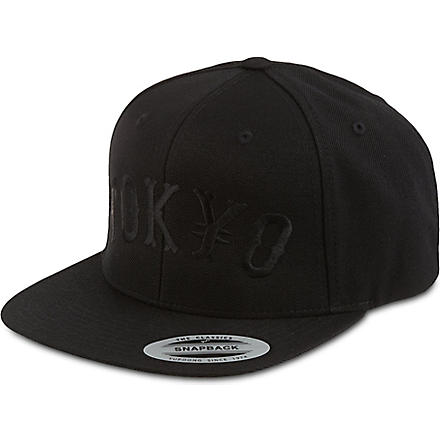 A QUESTION OF Tokyo snapback (Black