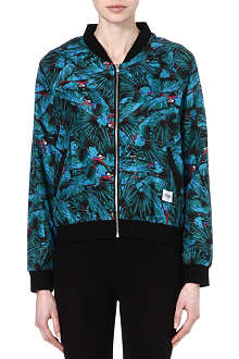 A QUESTION OF Parrot bomber jacket