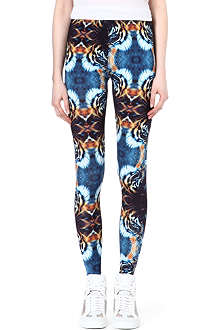 A QUESTION OF Tiger print leggings