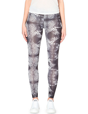 A QUESTION OF Leopards jersey leggings