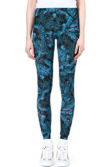 A QUESTION OF Parrot print leggings