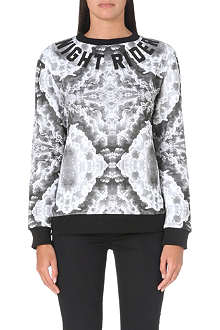 A QUESTION OF Clouds Night Rider sweatshirt