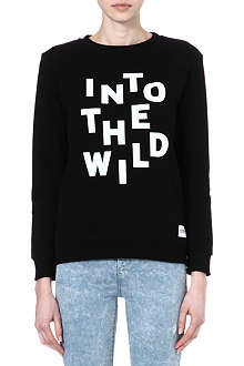 A QUESTION OF Cotton printed sweater