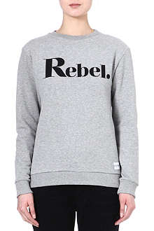 A QUESTION OF Rebel cotton sweatshirt