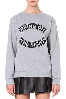 A QUESTION OF Bring on the Night cotton sweatshirt