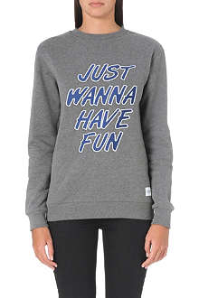 A QUESTION OF Just Wanna Have Fun sweatshirt