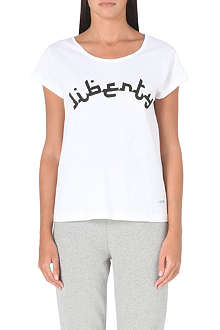 A QUESTION OF Liberty cotton-jersey t-shirt