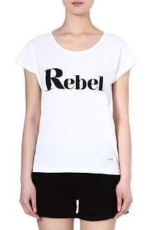 A QUESTION OF Rebel cotton t-shirt