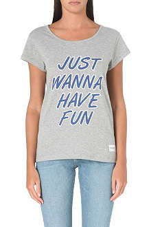 A QUESTION OF Just Wanna Have Fun t-shirt
