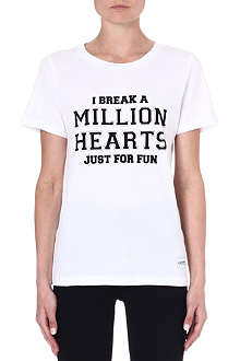 A QUESTION OF I Break Hearts t-shirt