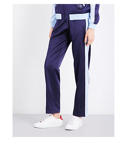 OPENING CEREMONY Reversible satin jogging bottoms (Eclipse+multi