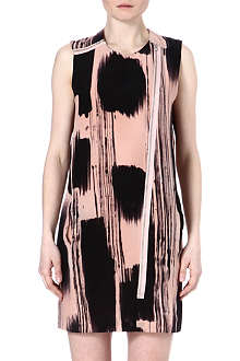 TIGER OF SWEDEN Saara printed silk dress